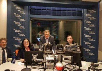 """W programie """"Radiowego Klubu Gazety Polskiej"""" na antenie Radia Kraków"""