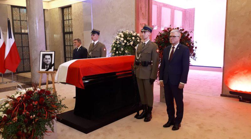 W sobotę pożegnaliśmy mecenasa, premiera Jana Olszewskiego
