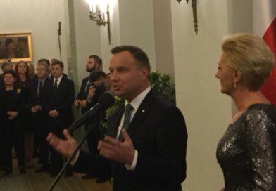20 lutego br Pan Prezydent zaprosił parlamentarzystów na spotkanie noworoczne