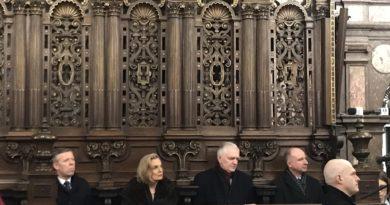 Msza św. w Katerdrze Wawelskiej o okazji Dnia Żołnierzy Wyklętych