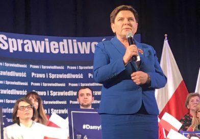 Spotkanie z Panią Wicepremier w Proszowicach
