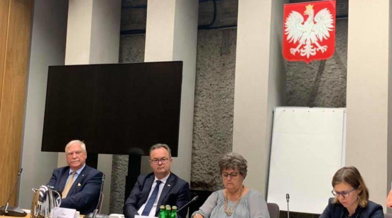 Spotkanie grupy parlamentarnej norwesko-polskiej z udziałem ambasadora Norwegii i przewodniczącej polskiej strony Pani Poseł Masłowskiej