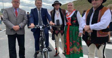 Otwarcie nowego odcinka Zakopianki  –  drogi ekspresowej S7 Skomielna Biała – Rabka