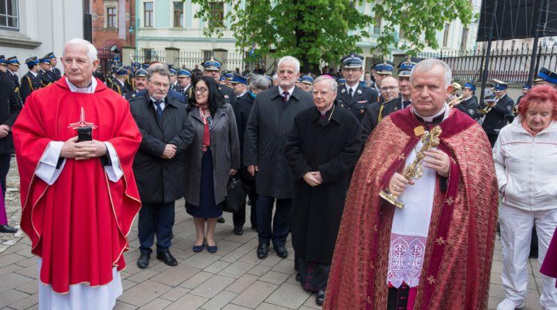 Uroczysta Msza św. odpustowa w Bazylice św. Floriana w Krakowie